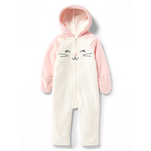 Wholesale soft cotton colorful newborn baby clothing unisex baby romper infant toddles clothing suit long sleeve