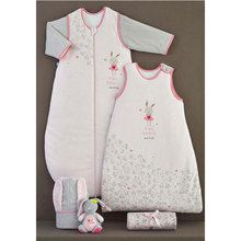 bamboo cotton muslin baby sleeping bag