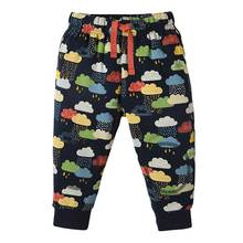 100 percent cotton elastic waist  for baby boys sport pants