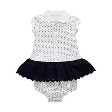 Shopping Soft Pure Cotton Soft Fabric Newborn Long Sleeve White Baby Romper Online