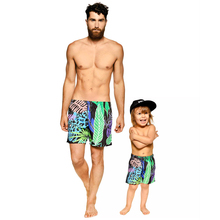 Family Swimwear Mens Trunks Beach Shorts Dress Boy Beach Shorts