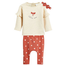 Newborn Toddler Infant Baby Girl Clothes Tops Flower T shirt Pants Leggings
