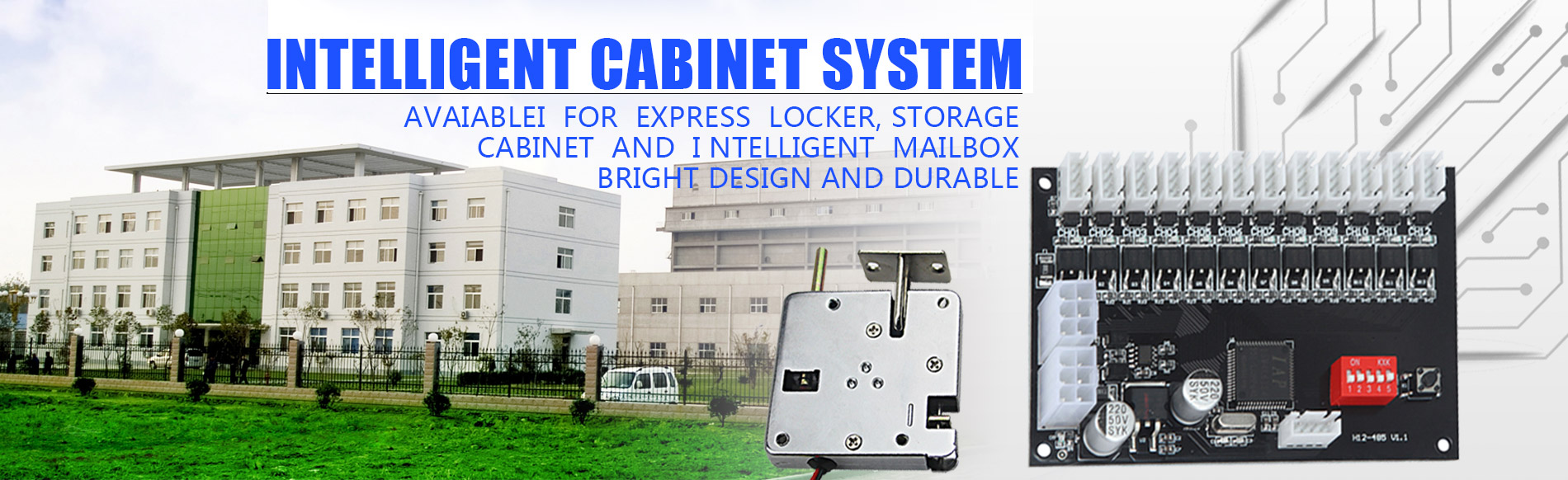 Electric Cabinet Lock manufacturers