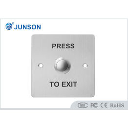Plate door release button