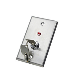 DC 36V Stainless Steel Door Release LED Key Switch For Door Access Control