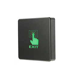 Stainless Steel Touch Exit Button With 2 Color LED Indication 500000 Times
