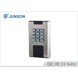 Waterproof stand alone access control system With Wg26 Communication , Gold   silver color