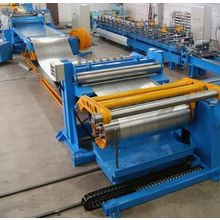 Fully automatic hydraulic slitting line twin slitter machine