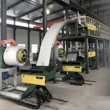 300KW Speed 10m  min PU sandwich panel machine