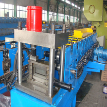 Galvanized steel CZ purlin roll forming machine China exporter