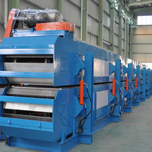 Hot sale high efficiency low noise PU sandwich panel line machine certified by ISO CE PLC