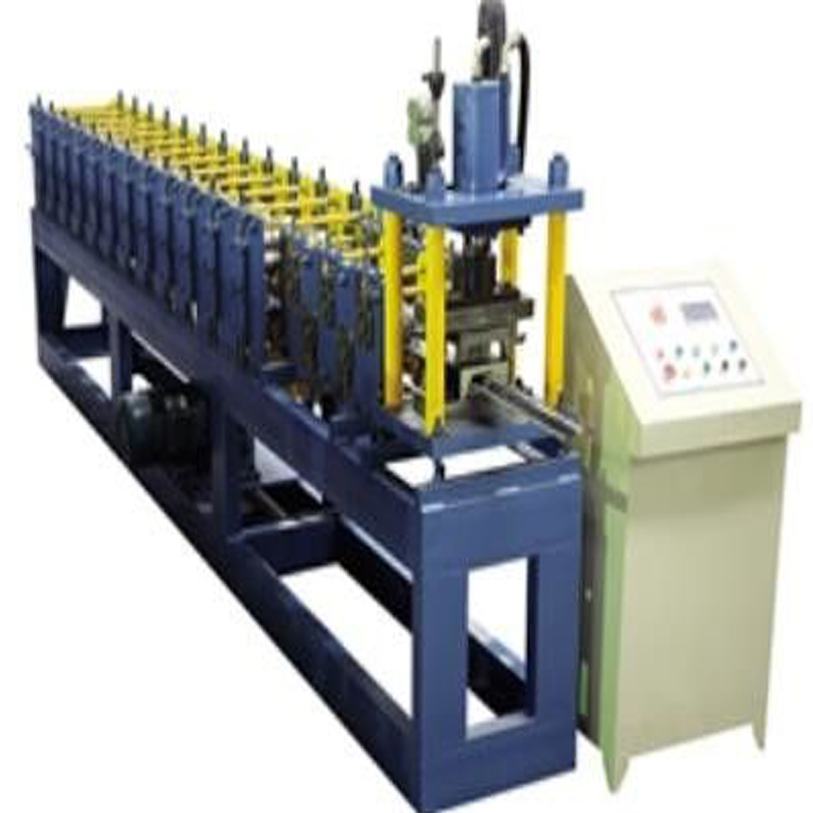 galvanized steel cz purlin machine