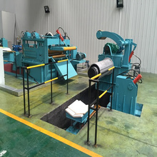 high quality 3X1250 steel coil straightening and cut to length machine