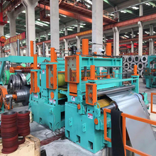 PLC siemens slitting line machine steel cutting shears