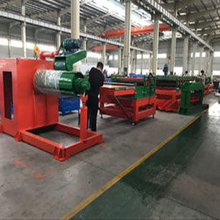 Steel silo corrugated sheet cold roll forming machine 3.0mm
