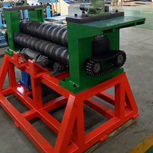 Steel silo round roll forming machine silo bending machine made in China