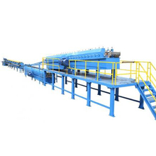 Cut to length steel door frame roll forming machine
