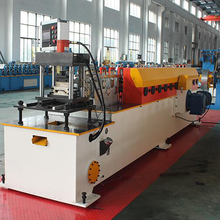 Shutter door tube roll forming machine galvanized steel