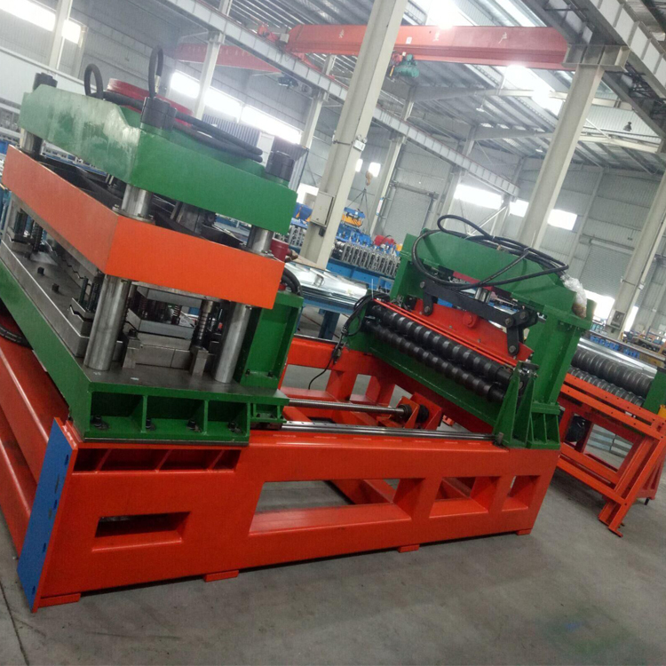 Spiral Steel Silo Roll Forming Machine Column Beam Equipment