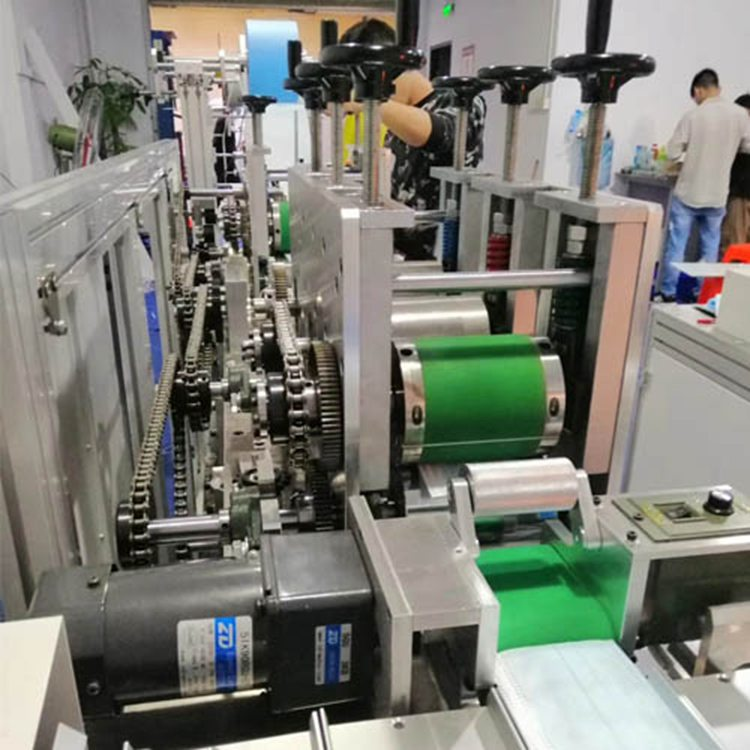 Fully Automatic disposable 3 Ply Face Mask Making Machine