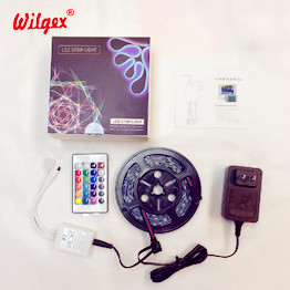 Wilgex LED-Streifen 12V 24V rgb Neonflex set LED