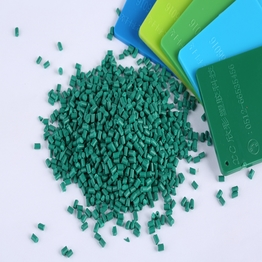 Chinese factory Eco-friendly green color masterbatch for Injection moldings