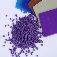 Factory price PP coloring additives granules purple colorful masterbatch