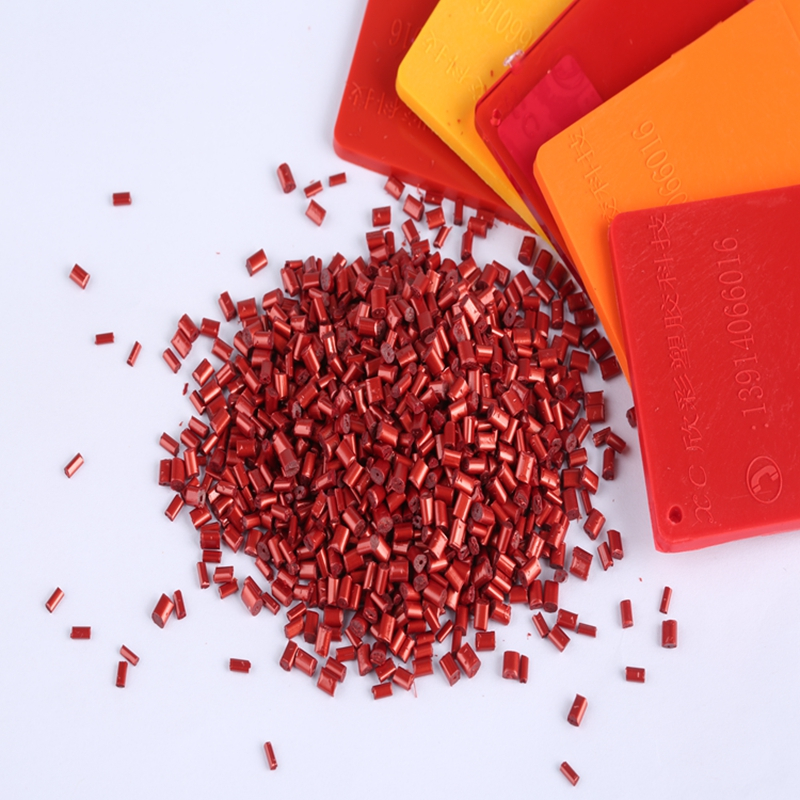 Anti aging PC Resin Red Color Masterbatch for Daily Necessary