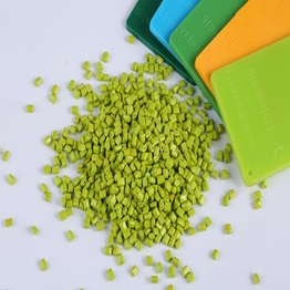 Colorant Concentrate PC Resin Green Color Masterbatch for Plastic raw material