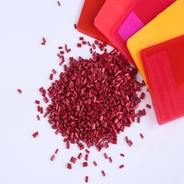 FDA certification polyethylene pellets red yellow blue bright color masterbatch for plastic product