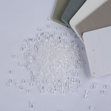 Transparent Polycarbonate granule virgin grade PC Granules for water bottle Free samples PC pellet