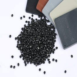 Carbon Black masterbatch used for plastic products PP PE resin