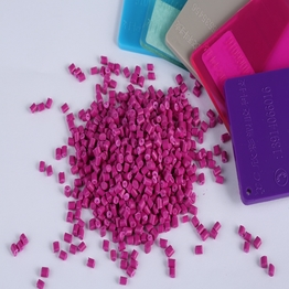 customized abs pp pe pellets color plastic granules masterbatch