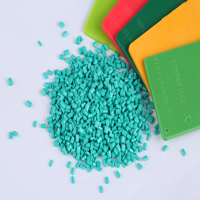 Wholesale PC metal green color masterbatch for blowing film injection extrusion