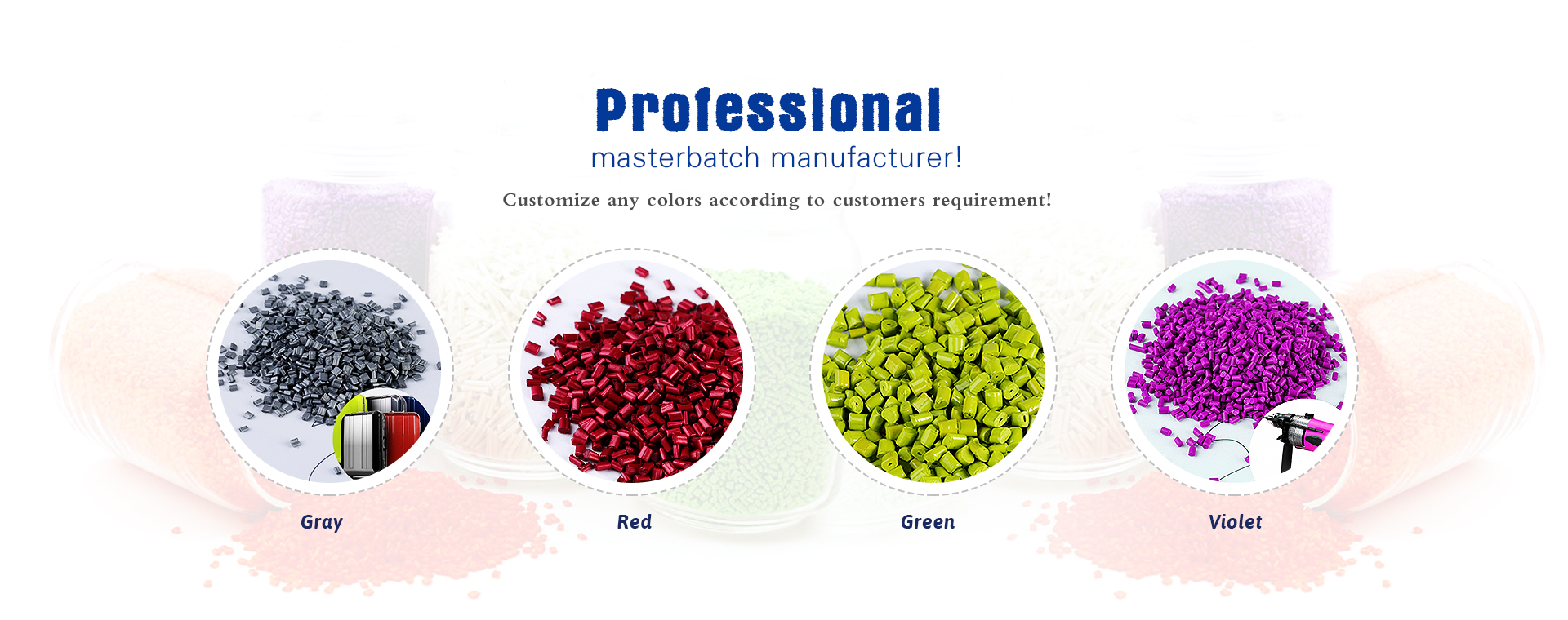 Modified Material | Plastic Color Masterbatch -customizecolormasterbatch.com