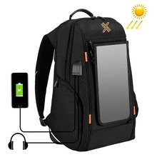 business backpack with solar panel