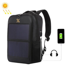 new style backpack with solar panel