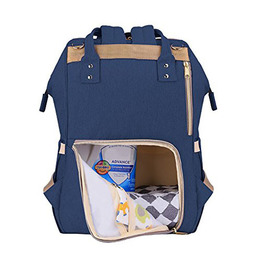 Waterproof Polyester Shoulder Diaper Tote backpack Travel Nappy Bag for Mom