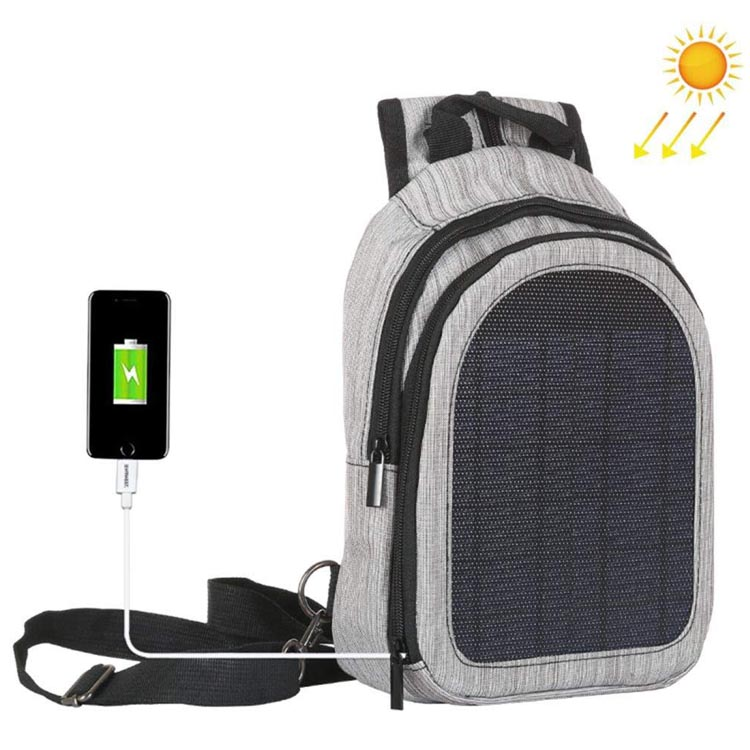 Solar Charger Backpack with USB Charging Port for Smart Cell Phones Electronic Devices Laptop backpack