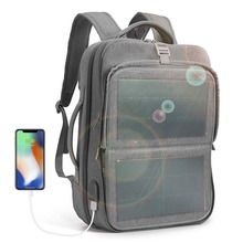 Solar Powered Backpack Solar Panel Business Laptop Tablets Backpacks