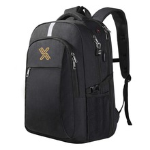 Anti Theft Daypack with Reflective Stripe Business Bag with USB Charging Port Laptop Backpack