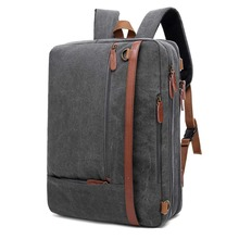 Multi Functional Convertible Shoulder Messenger Bag Laptop Briefcase Business Laptop Backpack