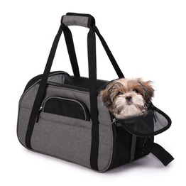 Multi Functional Soft Sided Pet Carrier Comfort for Airline Travel Pet Carrier Bag