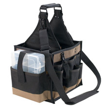 LeatherCraft 1528 Large Electrical and Maintenance Tool Carrier bag
