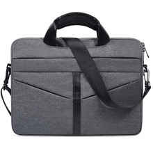 Waterproof laptop sleeve shoulder computer bag fashionable light weight business briefcase