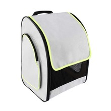 Rolling Pet Travel Carrier Bag Soft Sided Pet Travel Rucksack Foldable Pet Backpack