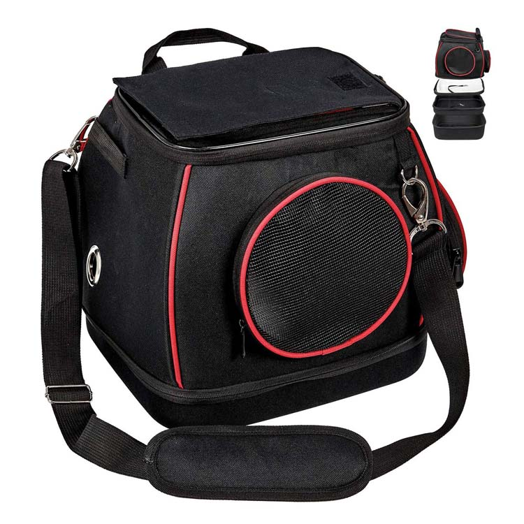 Airline approved carrying bag for small dogs and cats soft sided travel pet carrier