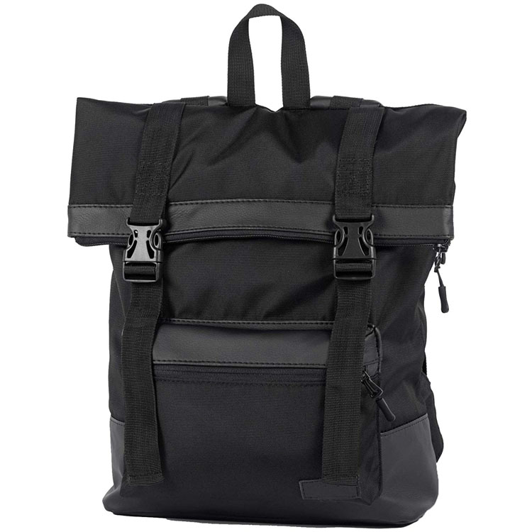 Waterproof rolltop backpack casual urban roll top daypack travel notebook laptop backpack for men women