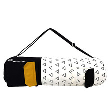 Eco friendly yoga mat bag organic yoga bag for extra wide mats