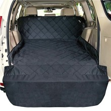 Water resistant pet cargo cover dog seat cover mat protector large size universal fit pet car seat